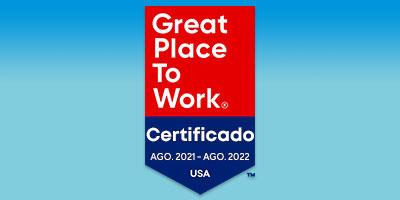 El grupo recibe la distinción Great Place to Work®